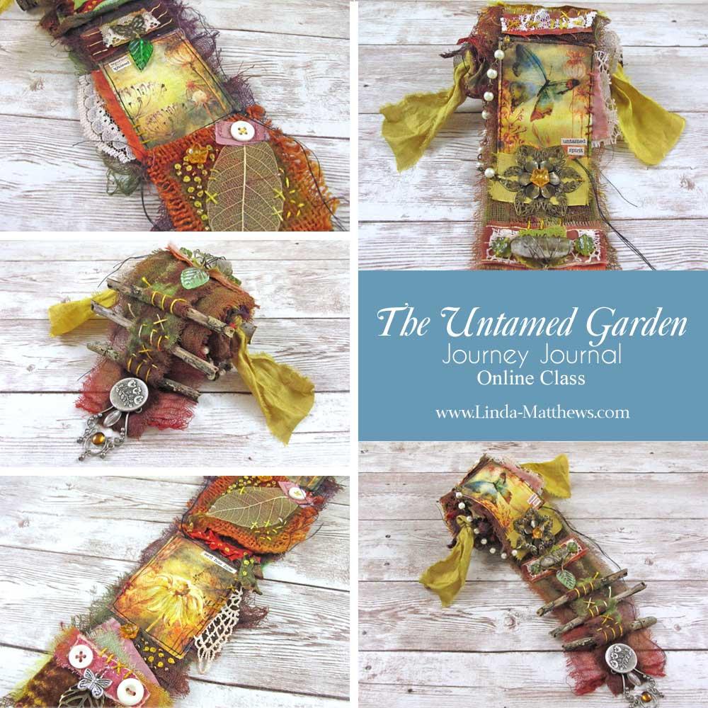 Snippet Roll Journal: Untamed Garden