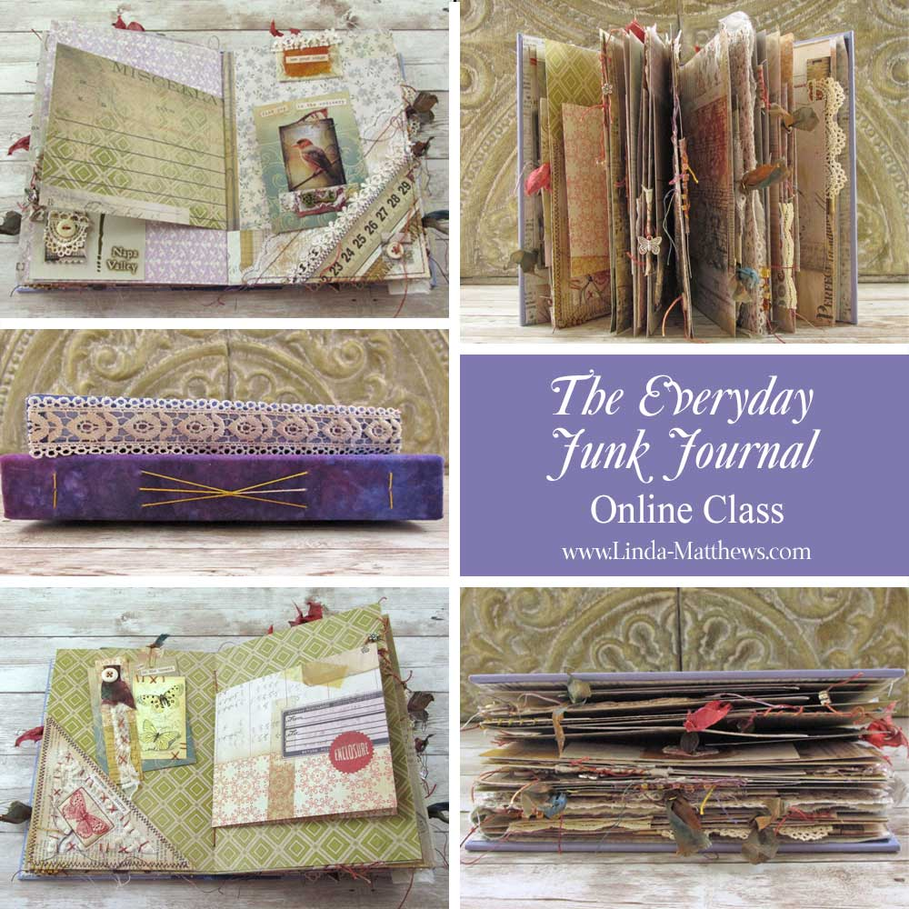 The Everyday Junk Journal Online Workshop