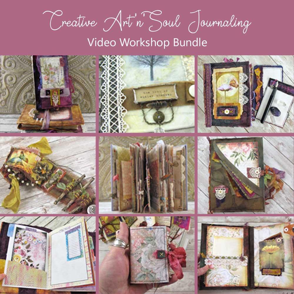 Creative Art'n'Soul Journaling Video Workshop Bundle